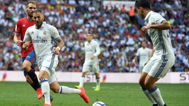 Asensio combina con Benzema frente al Osasuna