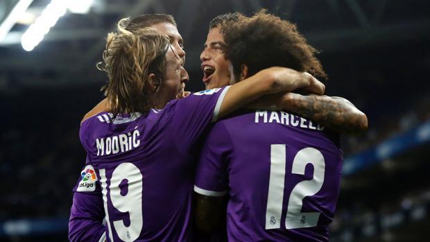 Español-Real Madrid:  Zidane iguala el récord de triunfos de Guardiola