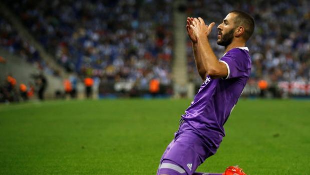 Español-Real Madrid:  Benzema vuelve al gol