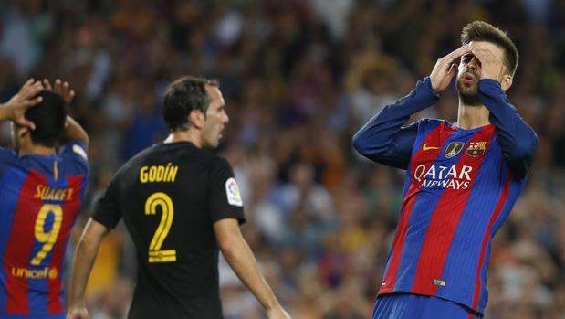 Barcelona-Atlético:  El Atlético apaga la luz al Barça