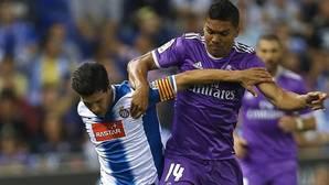 Grave contratiempo para Zidane: Casemiro será baja durante un mes