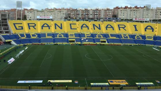 Ya se han abierto las puertas del estadio de Gran Canaria