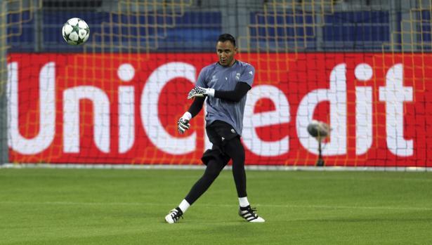 Borussia-Real Madrid:  Keylor Navas, titular 121 días después