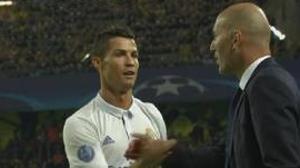 El gol de la reconciliación entre Cristiano y Zidane