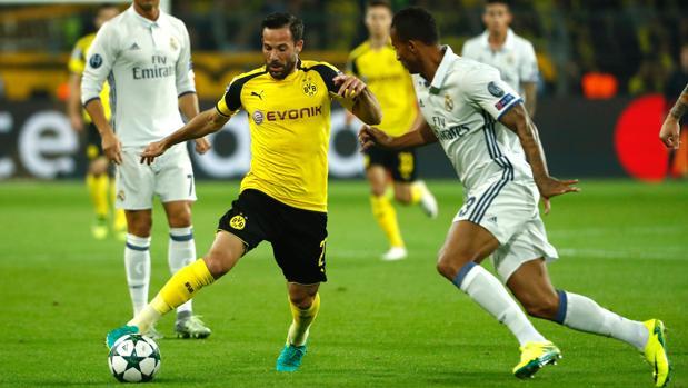 Dortmund-Real Madrid:  El Madrid deja escapar la victoria