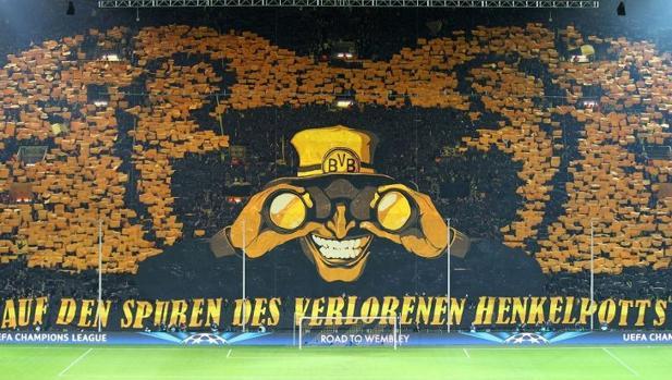 Dortmund-Real Madrid:  El «Muro Amarillo», la grada más impactante del mundo