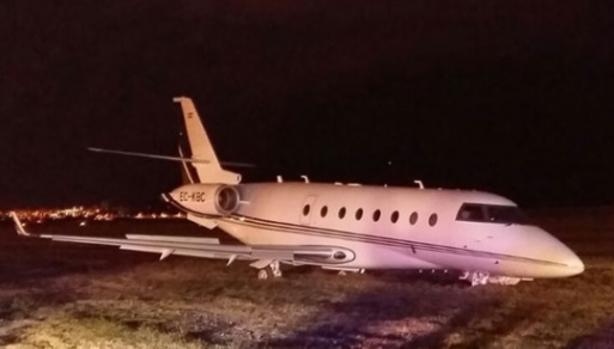 El avión privado de Cristiano sufre un grave accidente
