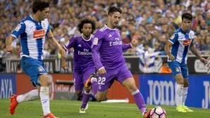 Zidane recupera a Isco: «Juega mañana»