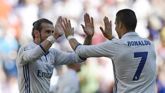 Bale y Cristiano, protagonistas del empate del Real Madrid