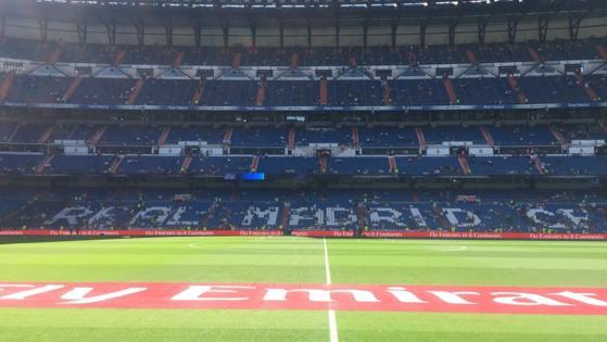 Ya se han abierto las puertas del Bernabéu.