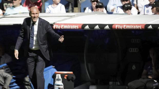 Real Madrid:  Las rotaciones rotan a Zidane
