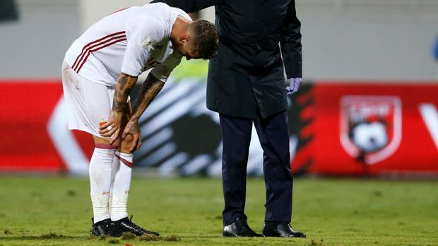 Real Madrid:  Importante lesión de Sergio Ramos, que estará mes y medio sin jugar
