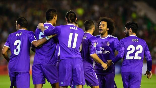 Betis-Real Madrid:  El Real Madrid reencuentra el tono y la victoria