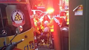 Ocho heridos en los altercados entre la Policía y los ultras del Legia en los alrededores del Bernabéu