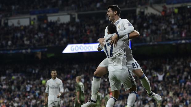 Real Madrid-Legia:  Morata y Lucas Vázquez refuerzan a un Madrid liviano
