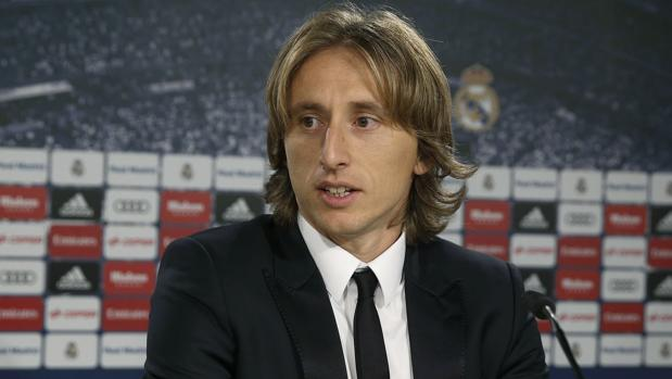 Modric: «Me retiraré en el Real Madrid»