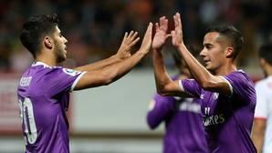 Lucas: «El penalti de Milán se me hizo muy largo, la verdad»