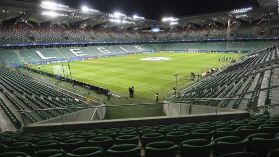 Así está el ambiente del estadio a una hora del comeinzo del partido