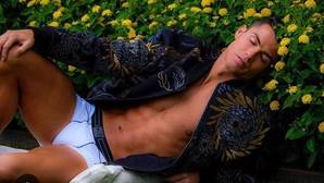 Cristiano, héroe entre las flores