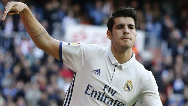 Morata, a un gol de su récord