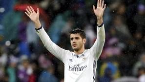 Morata, un mes de baja, se rompe para el derbi y para el clásico
