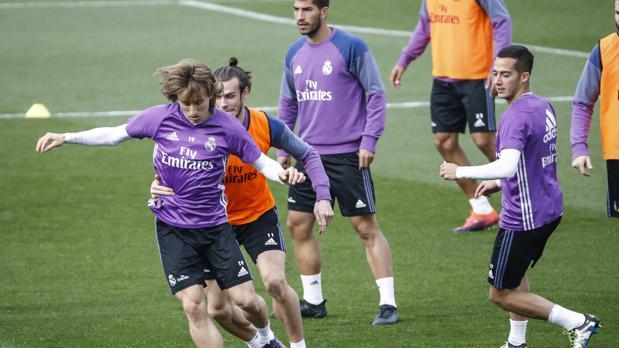 Modric, Bale Y Lucas