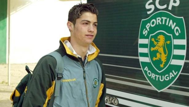 Cristiano Ronaldo, en su etapa de jugador del Sporting de Lisboa