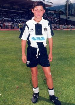 Cristiano, con la camiseta del Nacional