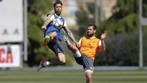 Ramos se reserva para el Camp Nou