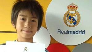 Takuhiro Nakai, el niño japonés de doce años que ha salvado al Real Madrid