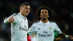 Pique entre Kroos y Marcelo por la felicitación del nuevo año del jugador alemán