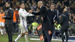 Regalo de Reyes de James a Zidane: «Me quedo»