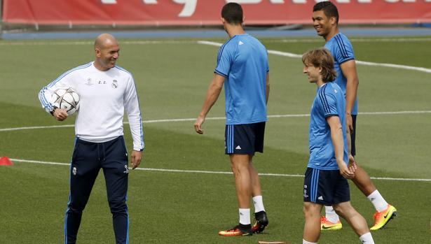 Real Madrid:  Los cinco de Zidane