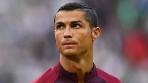 Cristiano, en el debut de Portugal en la Confederaciones