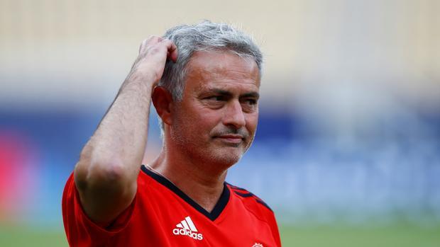 José Mourinho, entrenador del Manchester United