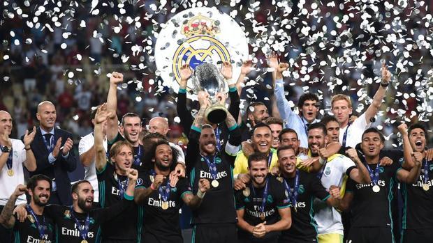Resultado Real Madrid-Manchester United:  El Madrid es supercampeón de Europa
