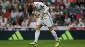 Bale se lamenta tras una ocasión perdida