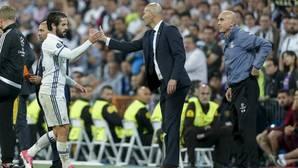 Zidane, fundamental en la continuidad de Isco