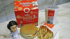 McDonald's cambiará en Estados Unidos los juguetes por libros en el «Happy Meal»