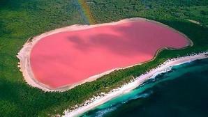 El inexplicable caso del lago australiano de aguas rosas
