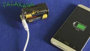El truco definitivo para cargar tu móvil con cuatro pilas