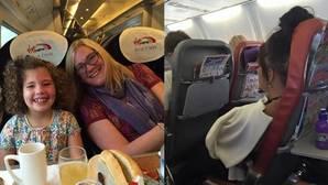 La respuesta en Facebook de una madre a una pasajera que mandó callar a su hija enferma en un avión