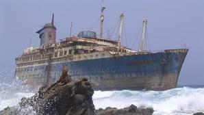 El barco fantasma de Fuerteventura