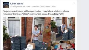 Un niño autista recibe 20.000 tarjetas de felicitación tras una petición de su madre por Facebook