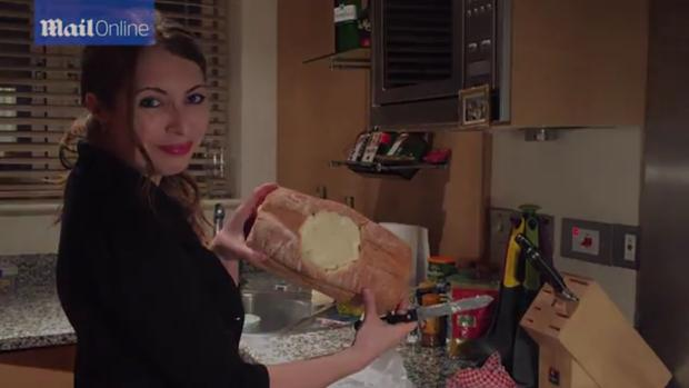 Imogen Blake prepara una de las recetas de Twisted