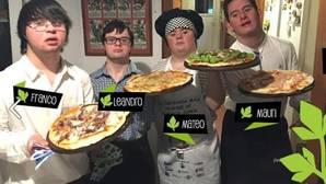 Seis chicos con síndrome de Down triunfan con sus pizzas a domicilio