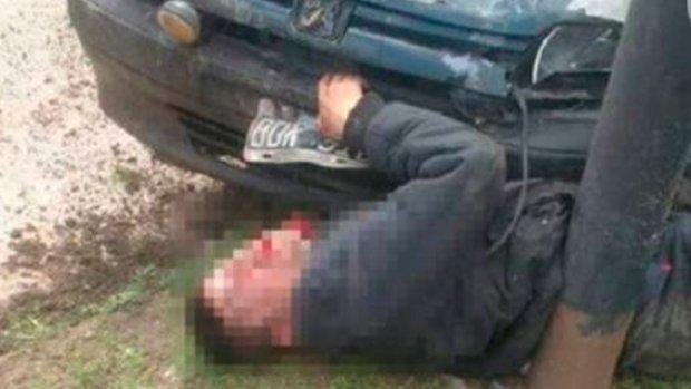 YouTube:  YouTube: Un «letal» carnicero persigue y asesina al delincuente que quiso robarle