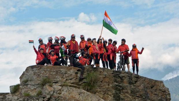 Las monjas budistan recorrieron 4.000 kilómetros por el Himalaya