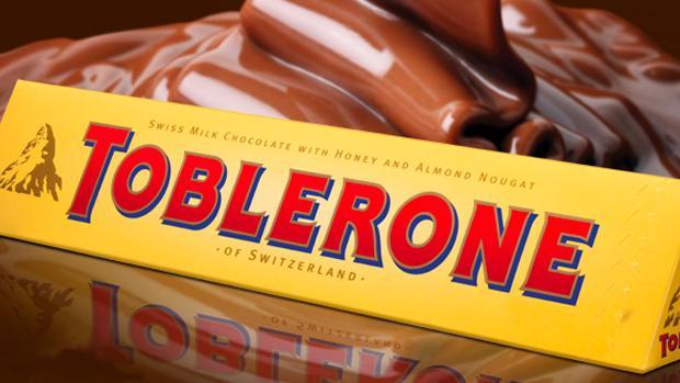 El curioso mensaje oculto en el logotipo de Toblerone