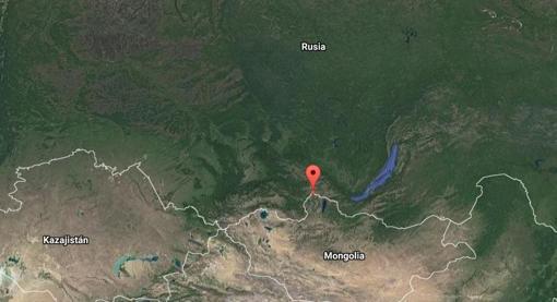 Ubicación de Khut, el pueblo donde desapareció el niño
